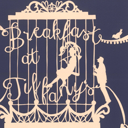 Breakfast at Tiffany's book jacket design thumbnail