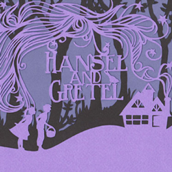 Hansel & Gretel book jacket design thumbnail