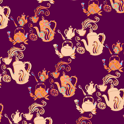 Teapots repeat pattern thumbnail