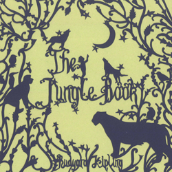 The Jungle Book book jacket design thumbnail